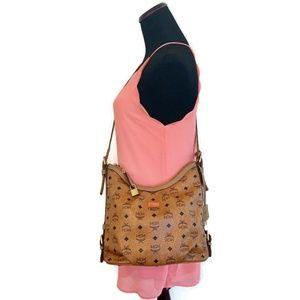 MCM Brown Shoulder bag/Crossbody Bag Authentic